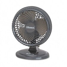 "Lil' Blizzard 7"" Two-Speed Oscillating Personal Table Fan, Plastic"