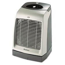 Holmes One-Touch Oscillating Fan Forced Compact Electric Space Heater with Oscillation