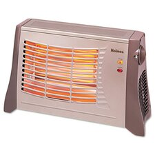 Ribbon 1,500 Watt Radiant Compact Electric Space Heater with Auto Shut-Off