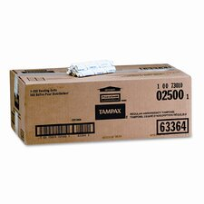 Tampons, Original, Regular Absorbancy, 500 Tampons per Carton