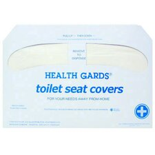 Health Gards Toilet Seat Cover in White (Case of 1000)