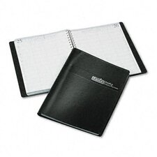 <strong>House of Doolittle</strong> Four-Person Group Practice Daily Appointment Book, 8 x 11, Black, 2013