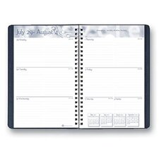 Academic Weekly Assignment Book Blk