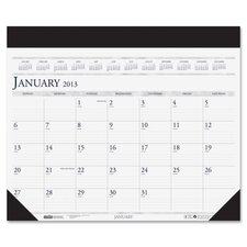 Deluxe Refillable Desk Pad Calendar
