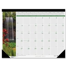 <strong>House of Doolittle</strong> Waterfalls Desk Pad Calendar