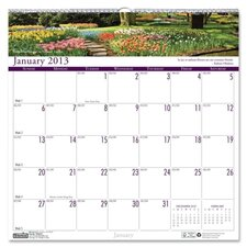 Earthscapes Gardens of the World Monthly Wall Calendar, 12 x 12, 2012