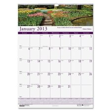Earthscapes Gardens of the World Monthly Wall Calendar, 12 x 16-1/2, 2012