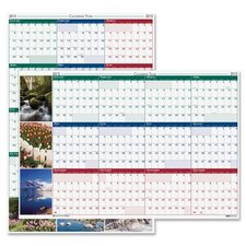 Laminated Write on Wall Calendar