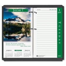 Full Color Photos Desk Calendar Refill