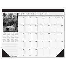 Monthly Desk Pad 13 Month Calendar