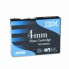 "1/8"" Data Cartridge, 150m, 20GB Native/40GB Compressed Data Capacity"