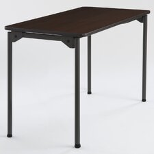 Maxx Legroom Rectangular Folding Table