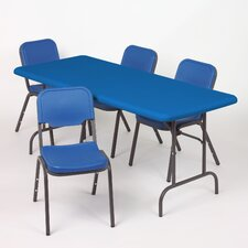 IndestrucTable TOO Rectangular Folding Table
