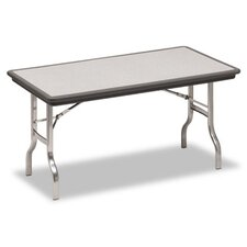 Indestruc-Tables Too Folding Table, Rectangular, 72d x 30d x 29h, Charcoal