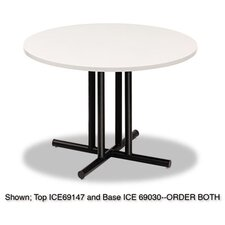 <strong>Iceberg Enterprises</strong> Officeworks Four-Column Round Table Base
