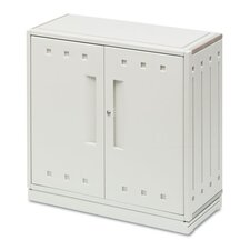 <strong>Iceberg Enterprises</strong> Snapease Storage Cabinet, Resin