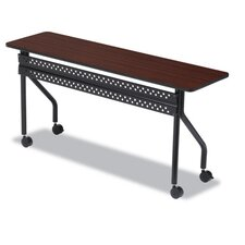 Officeworks Mobile Training Table, Rectangular, 72W X 18D X 29H