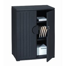 "OfficeWorks 46"" Storage Cabinet"