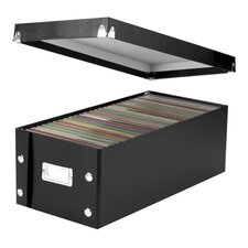 <strong>Ideastream Products</strong> Storage Box, DVD, Water Resistant, Holds 26, Black