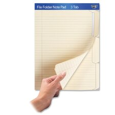 <strong>Ideastream Products</strong> File Folder Note Pad