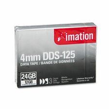 <strong>Imation</strong> DDS-3 Cartridge Compressed Capacity