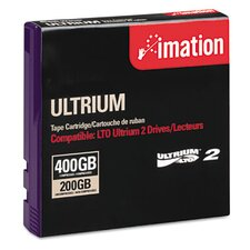 "1/2"" LTO-2 Data Cartridge, 1998ft, 200GB Native/400GB Compressed Data Capacity"