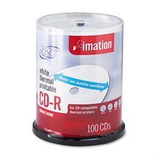 CD-R Disc, 700Mb/80Min, 52X, 100/Pack (Set of 2)