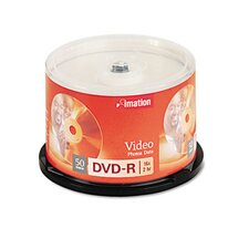 DVD-R Disc, 4.7Gb, 50/Pack