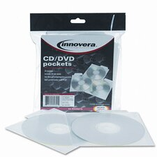 <strong>Innovera®</strong> CD/DVD Pocket, 25/Pack