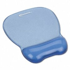 Gel Mouse Pad with Wrist Rest, Nonskid Base