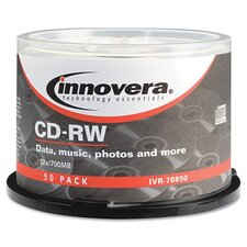 CD-RW Disc, 50/Pack