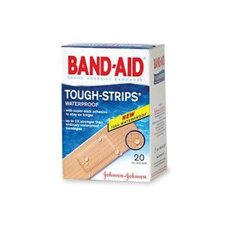 "X 3 1/4"" BAND-AID® Touch Strips™ Waterproof Bandages (20 Per Box)"