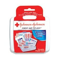 <strong>Johnson & Johnson</strong> Aid To Go!® Mini First Aid Kit