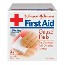 "X 2"" RED CROSS® Sterile Gauze Pad"