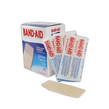 "X 4"" Band-Aid® Brand Extra Large Flexible Sheer Bandage (50 Per Box)"