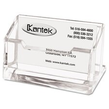 <strong>Kantek</strong> Business Card Holder, Capacity 80 Cards