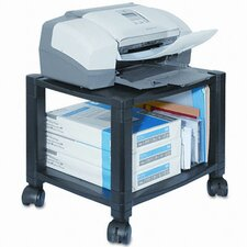 Mobile Printer Stand, 2-Shelf