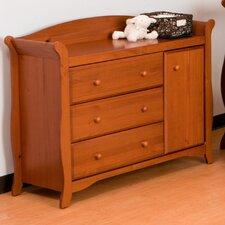 Aspen 3-Drawer Combo Dresser