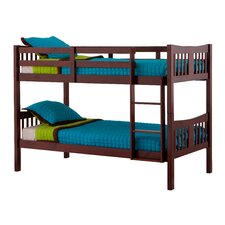 Caribou Twin over Twin Bunk Bed with Ladder