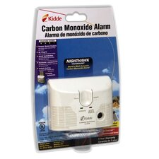 <strong>Kidde Fire and Safety</strong> Carbon Monoxide Alarm, AC/DD Plug In, 9V Battery Backup, White