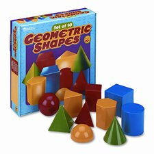 Large Geometric Shapes 10 Piece Set