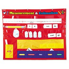 <strong>Learning Resources®</strong> Measurement and Estimation Pocket Chart