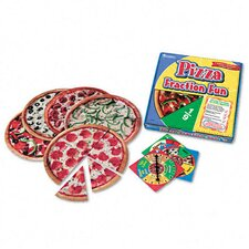 <strong>Learning Resources®</strong> Pizza Fraction Fun Math Game