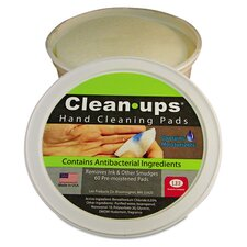 <strong>Lee Products Company</strong> Clean-Ups Hand Cleaning Pads (Pack of 60)