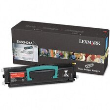 E450H21A OEM Toner Cartridge, 11000 Page Yield, Black