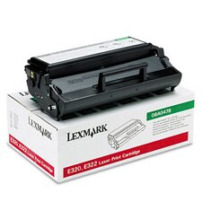 08A0478 High-Yield Toner, 6000 Page-Yield