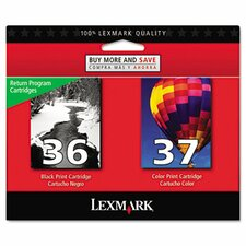 Ink Cartridge, 175 Page-Yield, 2/Pack