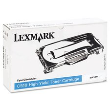 20K1441 Toner Cartridge, High-Yield, Cyan