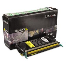 Laser Cartridge for Lexmark C530dn, C532n, C534n, Extra High-Yield, Yellow