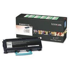 E460X11A Extra High-Yield Toner, 15000 Page-Yield